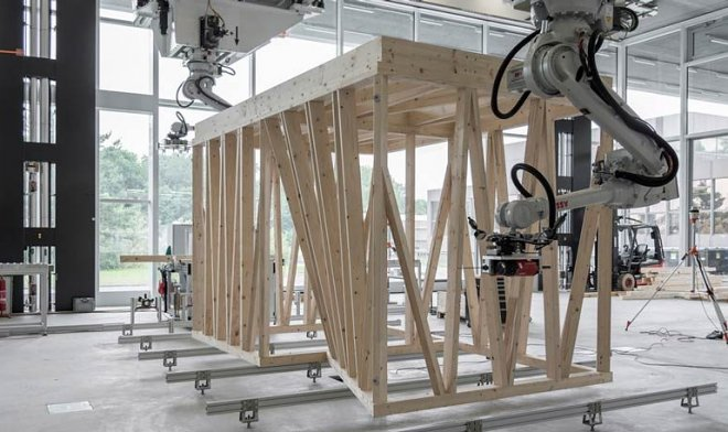 Робот строитель DFAB