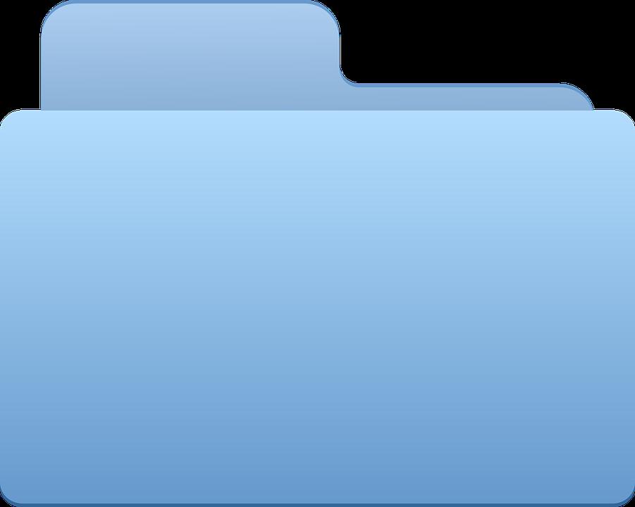 Файлы синего цвета