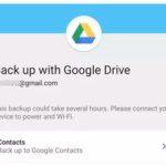 Резервное копирование данных с телефона на Google Диск