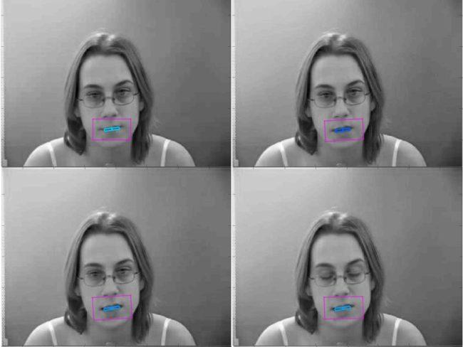 Слуховой аппарат для чтения по губам