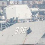 В Китае обнаружен десантный корабль с рельсотроном на борту