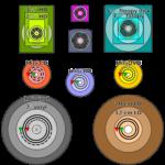 Используй CD-RW, DVD+RW, DVD-RW как логический диск или дискету