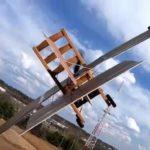 Как поднять в воздух стул из ИКЕА